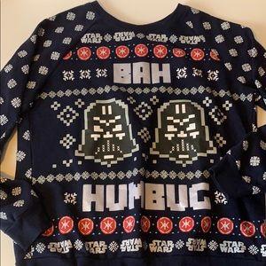 Bah Humbug Star Wars Holiday sweatshirt Darth